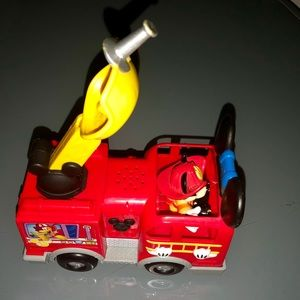 Mickey Mouse Firetruck
